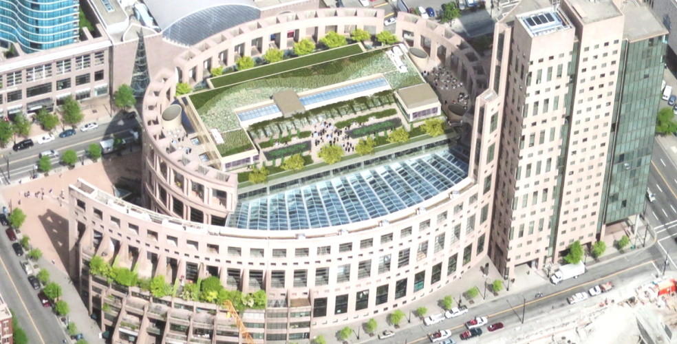 $15.5-million expansion, public rooftop planned for Vancouver Public Library