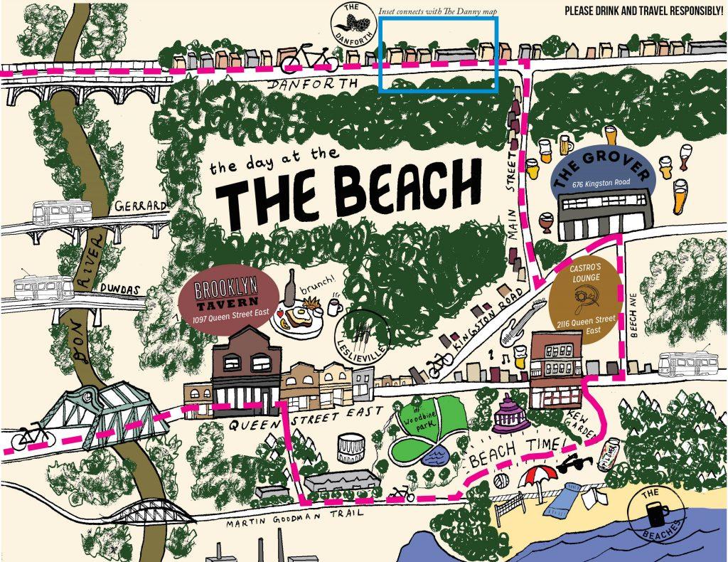 The Beach Map