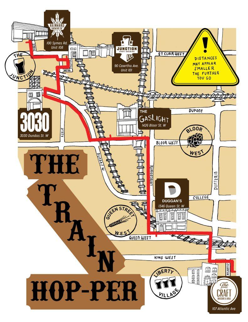 Train Hop-per Map