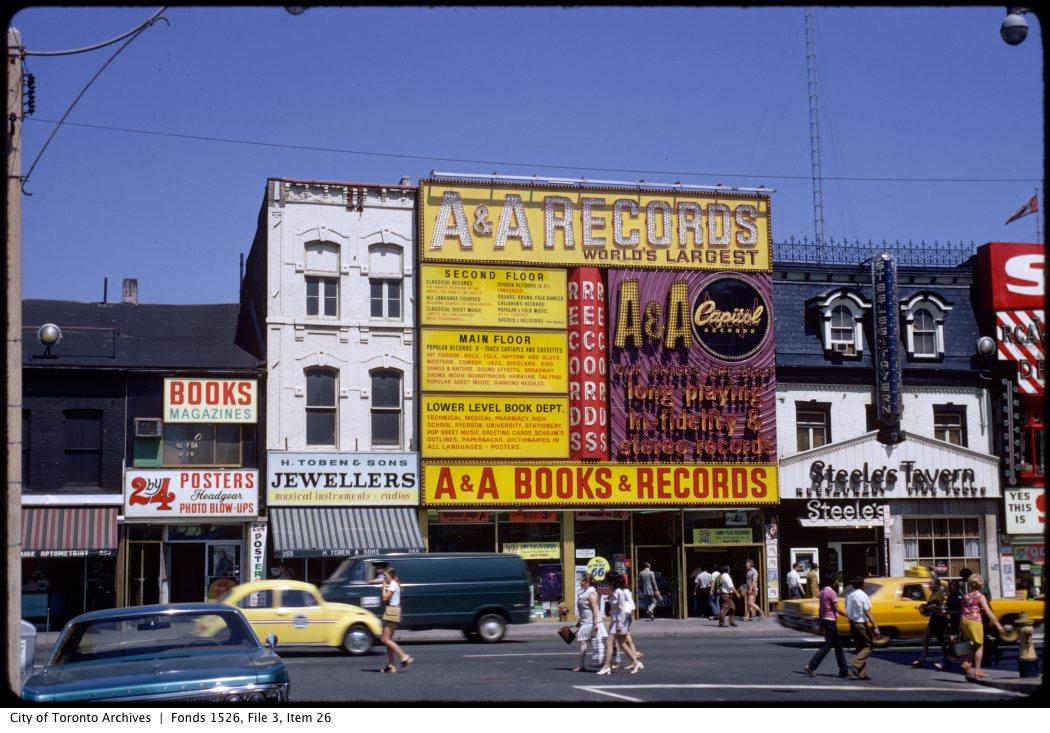 Yonge Street, Carlton Street to Dundas Street. - July, 1970-April 20, 1981