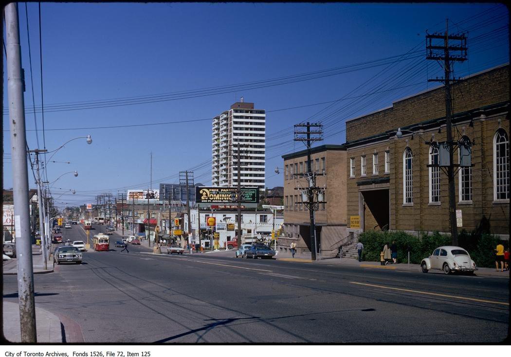 Toronto street scenes. - July 28, 1972-September 22, 1984