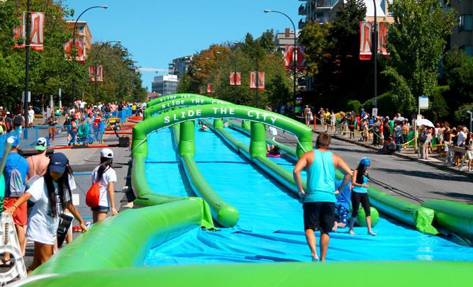 Slide The City North Vancouver approved as 2-day event