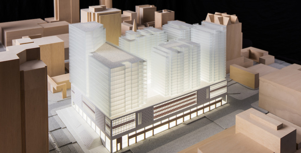 5 towers to be built on top of old Canada Post building in downtown Vancouver