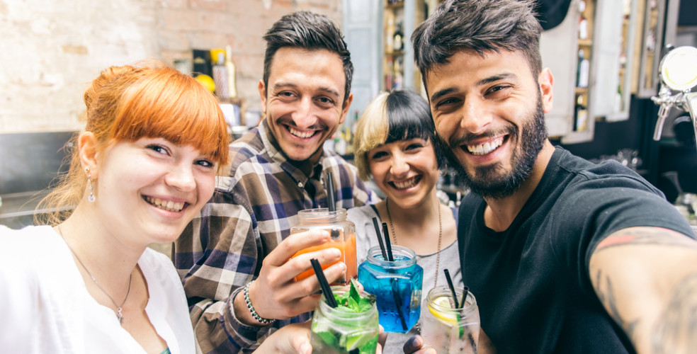 College Students Partying / Shutterstock