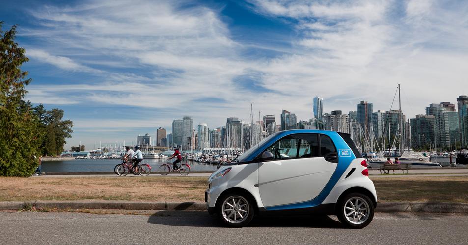 100,000 Vancouverites use car2go, largest membership base globally