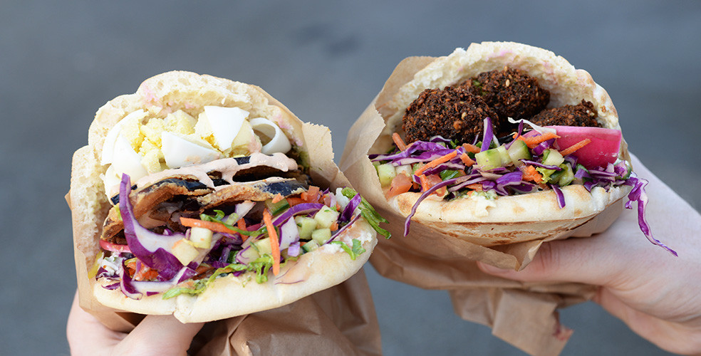 Chickpea food truck wheels into town with Mediterranean-inspired menu
