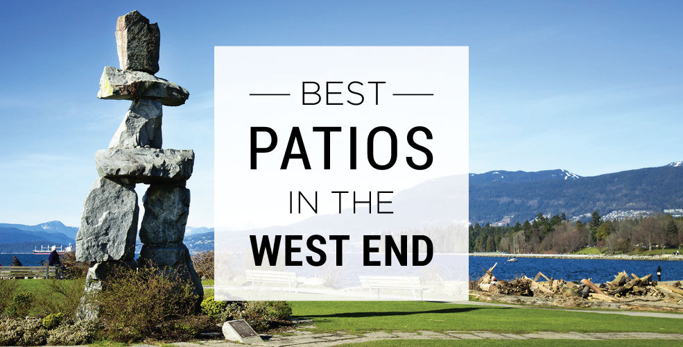 Best patios in the west end