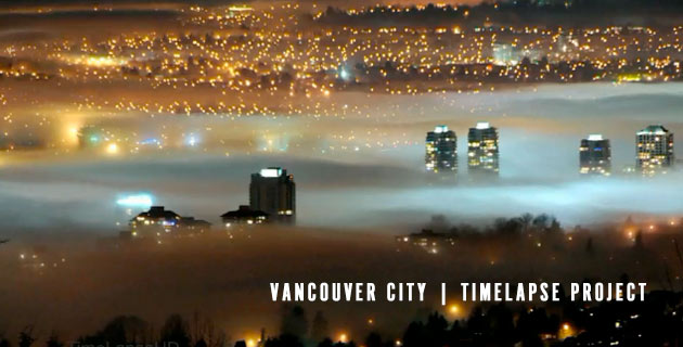 Vancouver Timelapse in HD
