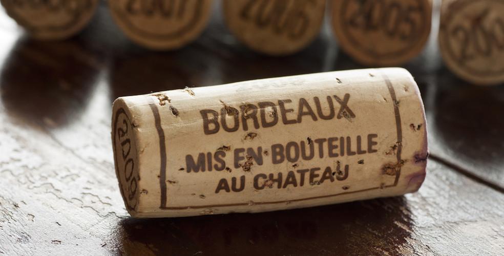 Bordeaux wine cork 984x500