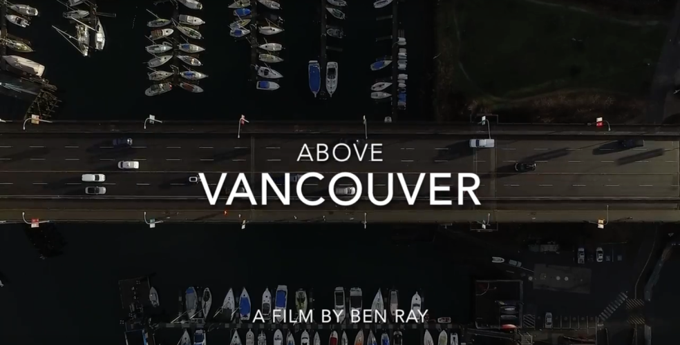 Drone captures epic aerial view of Vancouver (VIDEO)