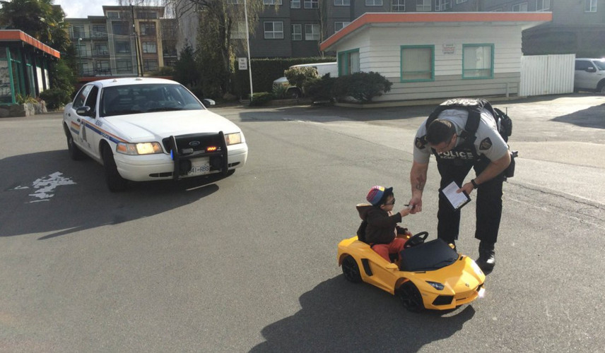 Young 'driver' in Lamborghini ticketed for speeding in Burnaby