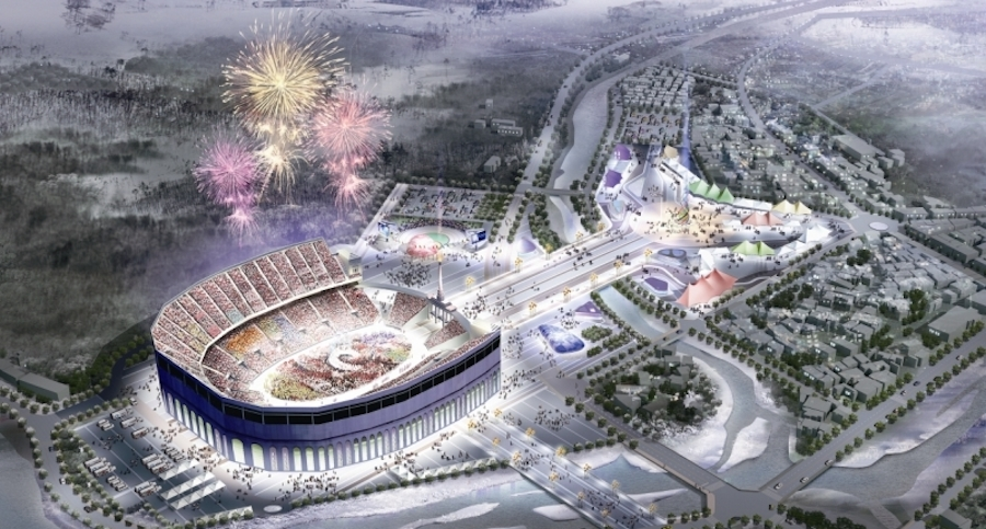 Pyeongchang 2018 olympic stadium1