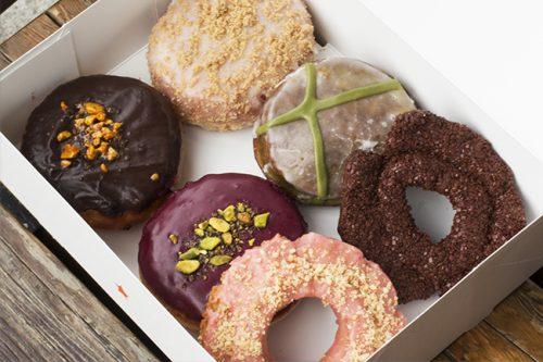 Photo courtesy Lucky's Doughnuts