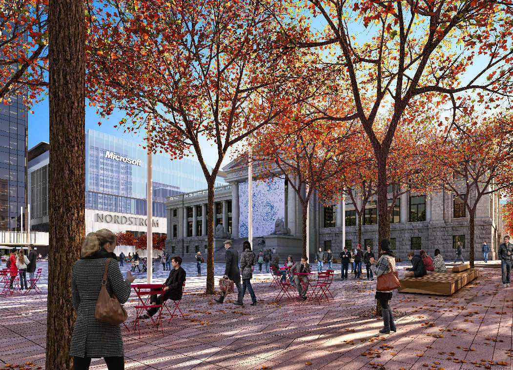Opinion: New Vancouver Art Gallery plaza design creates event-friendly space