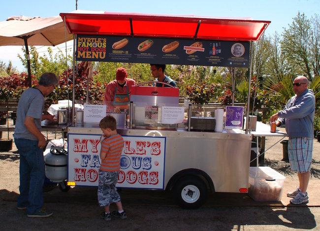 Photo by Alan Johnstone via Myrtle's Famous Hot Dogs/Facebook