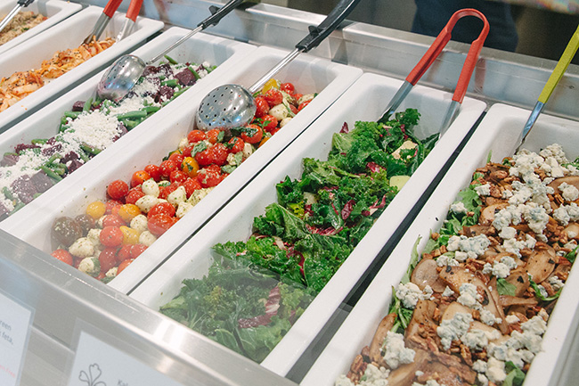 Best salad bars in vancouver daily hive vancouver for Food bar health