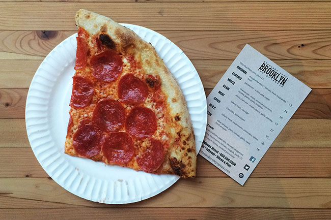 Pizza by the slice (Jess Fleming / Vancity Buzz)