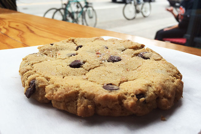 Purebread's Chocolate Chip Cookie (Jess Fleming / Vancity Buzz)