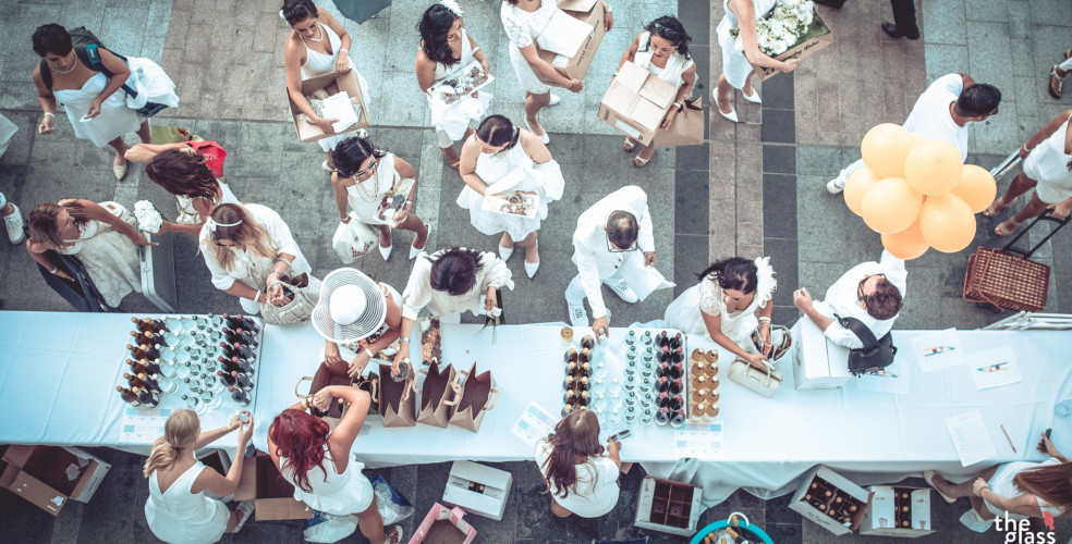 Calgary's 5th annual Le Dîner en Blanc location revealed: Shaw Millennium Park