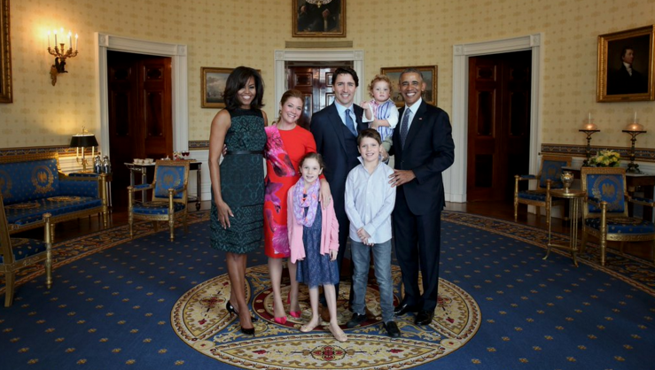 """""""It's about time, eh?"""" Justin Trudeau and Barack Obama have historic visit (PHOTOS)"""