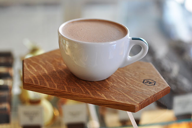 Small Victory Hot Chocolate (Jess Fleming/Daily Hive)