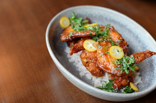 Uncle Hing's Chicken Wings (Jess Fleming / Daily Hive)