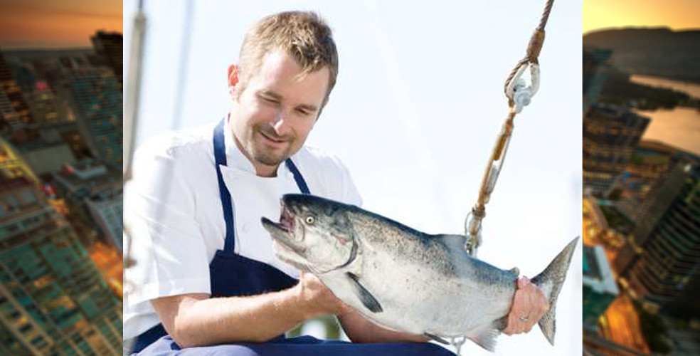 Ned Bell joins Vancouver Aquarium as Ocean Wise Executive Chef