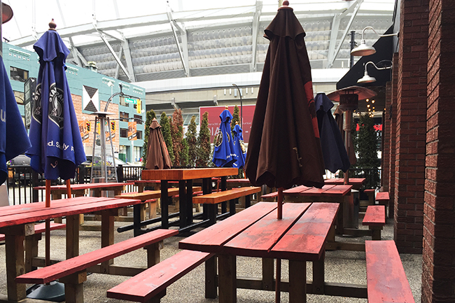 Back Forty patio vancouver