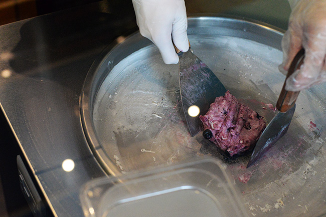 Ice fried yogurt at ON Yogurt (Jess Fleming / Vancity Buzz)