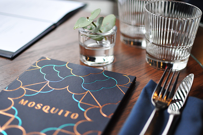 Brunch menu at Mosquito (Jess Fleming / Vancity Buzz)