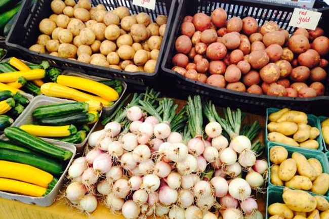 Vancouver Farmers Market produce (Vancouver Farmers Markets/Facebook)