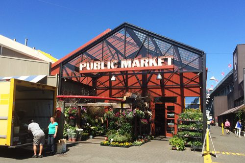 Granville Island Public Market (Jess Fleming / Daily Hive)