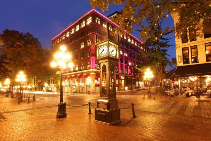 Gastown Vancouver via Shutterstock