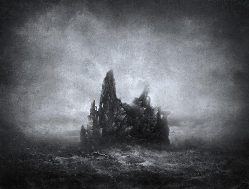 Haunted island via Shutterstock
