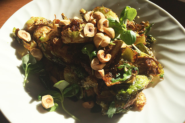 Fried Brussels argo dolce (Jess Fleming/Daily Hive)