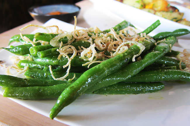 Green Beans in Scape Butter (Jess Fleming / Daily Hive)