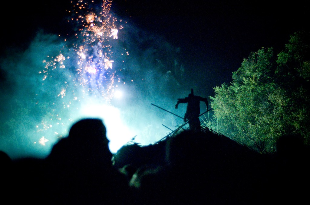 A Guy Fawkes Night celebration in 2010 (Photo by Lewis Walsh/Flickr)