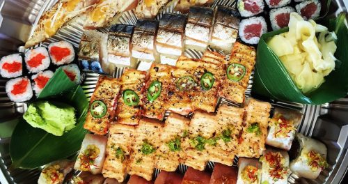 Aburi sushi from Miku (Lindsay William-Ross/Daily Hive)