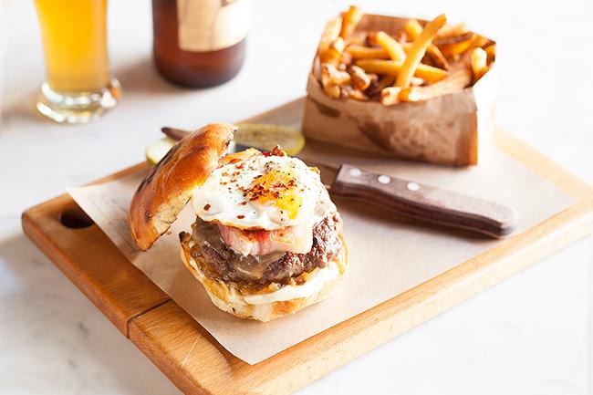 Pourhouse burger Vancouver