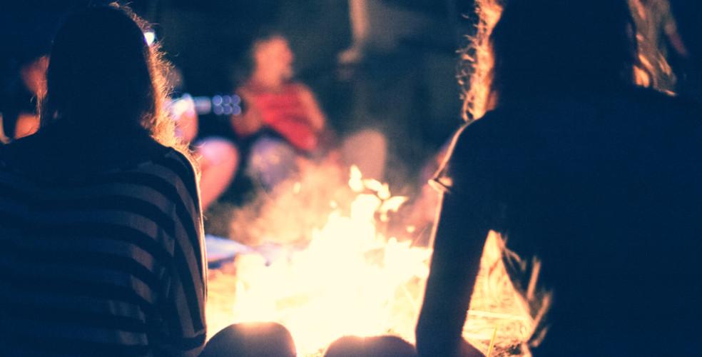 camp fire, bon fire Fire ban