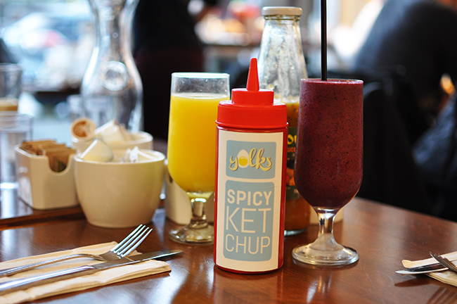 Yolk's brunch bevvies (Jess Fleming / Daily Hive)