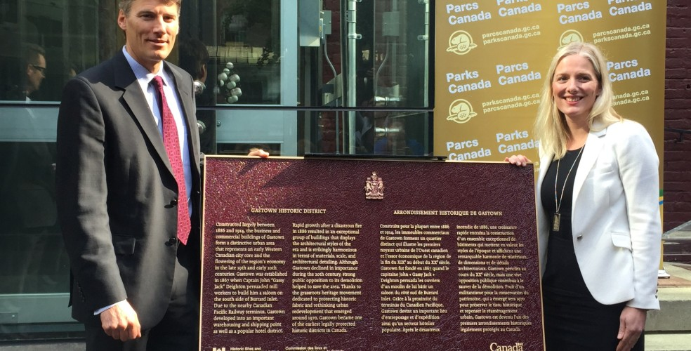 History-rich Gastown officially becomes national historic site of Canada