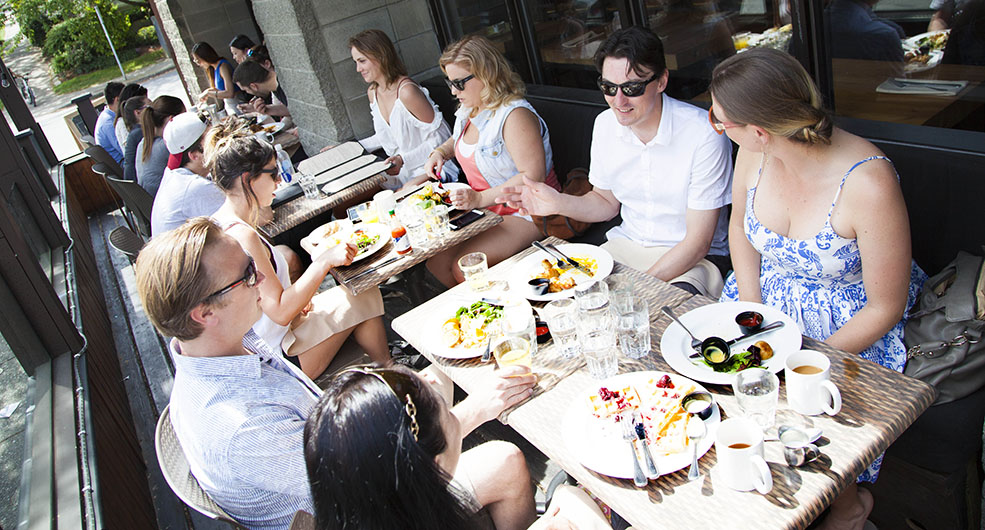 Patios may be taking over parking spaces in Vancouver