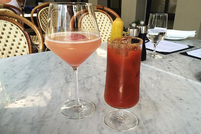Brunch cocktails (Jess Fleming / Daily Hive)