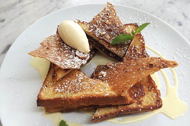Nutella Stuffed French Toast (Jess Fleming / Daily Hive)
