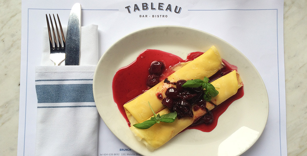 The Ultimate Vancouver Brunch Guide: Tableau Bar Bistro