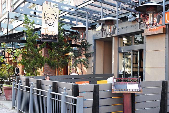 Urban Thai patio Yaletown
