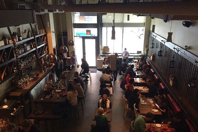 Inside Tuc Craft Kitchen (Jess Fleming / Daily Hive)