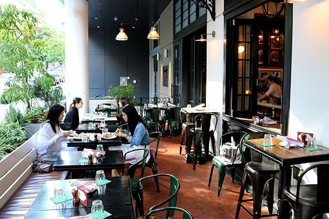 Patio Homer St. Cafe and Bar Yaletown