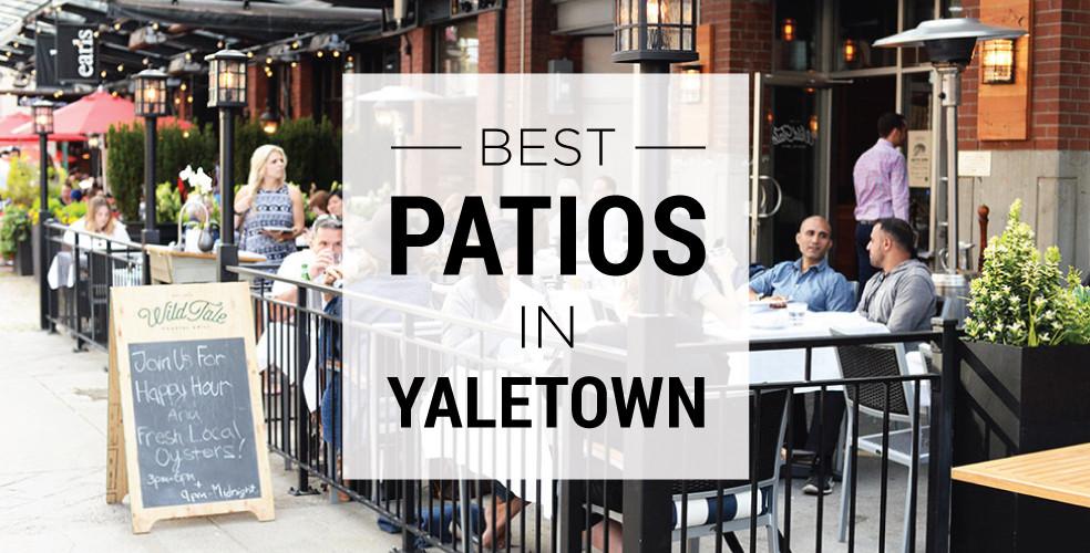 Best patios in Yaletown